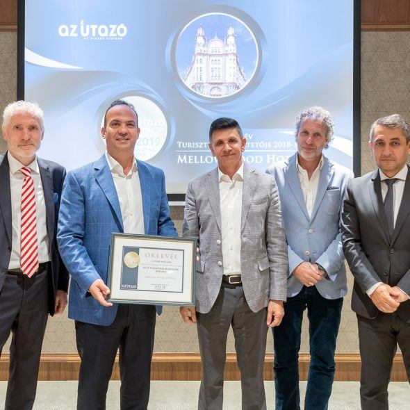 Winners of 2018 Best Tourism Service Providers Award by Az Utazó magazine announced