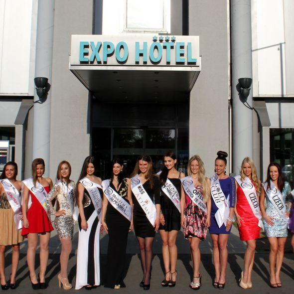 Expo Congress Hotel hosts the contestants of the Miss Alpe Adria international beauty contest