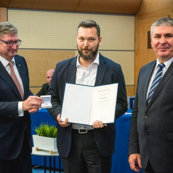 The renovator of the Párisi Udvar received a Lifetime Achievement Award